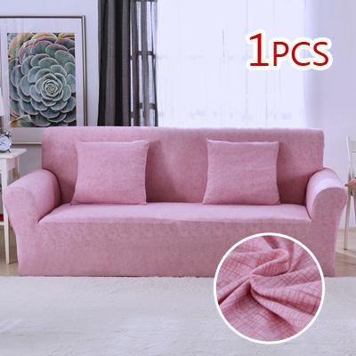 Cross pattern Stretchable Universal Sofa Covers 6 / single seat sofa joeypatch