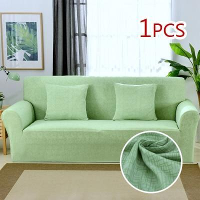 Cross pattern Stretchable Universal Sofa Covers 7 / single seat sofa joeypatch