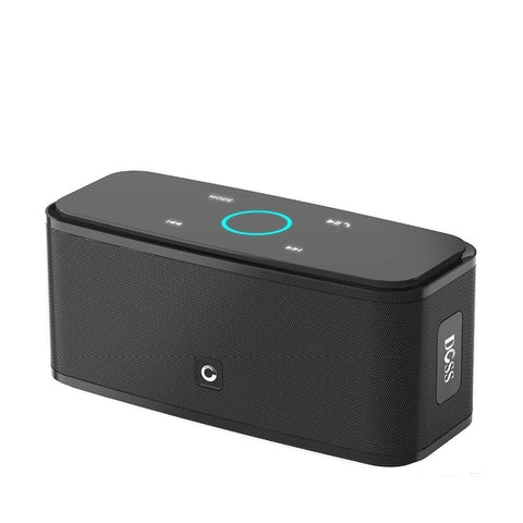 Image of DOSS Portable SoundBox Touch Control Bluetooth Speaker Black