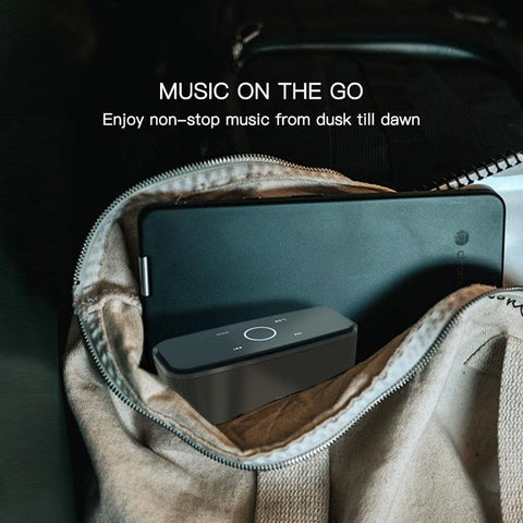 DOSS Portable SoundBox Touch Control Bluetooth Speaker Black