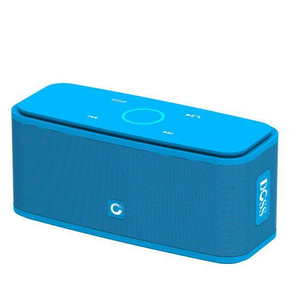 DOSS Portable SoundBox Touch Control Bluetooth Speaker Blue