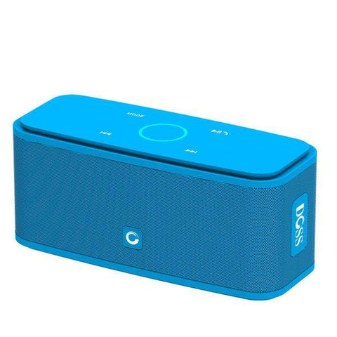 Image of DOSS Portable SoundBox Touch Control Bluetooth Speaker Blue