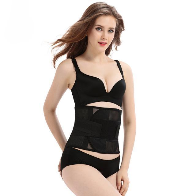 Maternity postpartum Slimming Waist Trainer body Shapewear Belt Belly Bands & Support Black / M Fafami Officialss Store