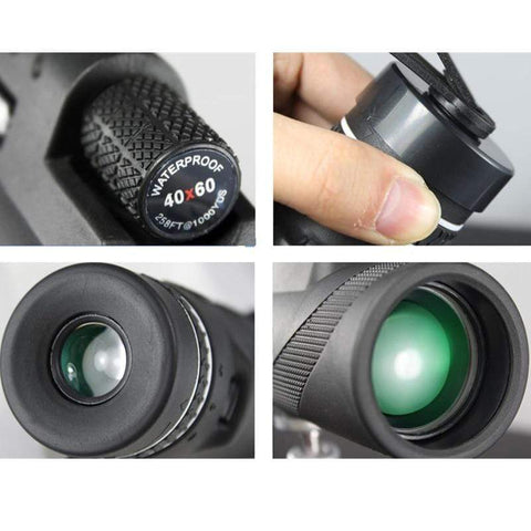 Image of Monocular 40x60 Powerful Binoculars High Quality Zoom Great Handheld Telescope lll night vision Military HD Professional Hunting