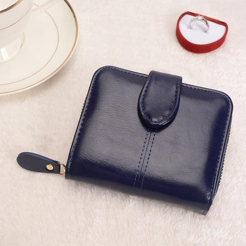 Image of Multifunctional Fashion Purse Small Wallet for women Wallets Black COHEART Official Store