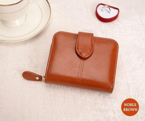 Image of Multifunctional Fashion Purse Small Wallet for women Wallets Brown COHEART Official Store