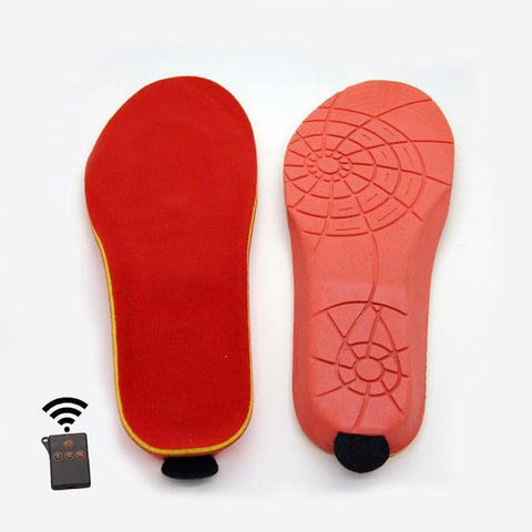 Remote Control Electric Heated Insole Thermal Shoe Insert joeypatch