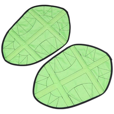 Image of Reusable  Automatic One Step Hands-free Shoe Covers Green joeypatch
