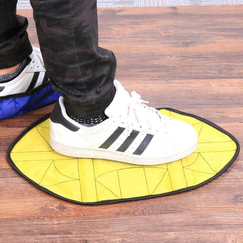 Image of Reusable  Automatic One Step Hands-free Shoe Covers joeypatch