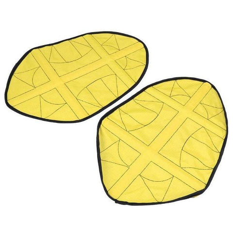 Image of Reusable  Automatic One Step Hands-free Shoe Covers Yellow joeypatch