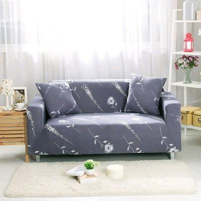 Slip Resistant Easy Wrap Sofa Cover Sofa Cover 15 / single seat sofa Contracted Store
