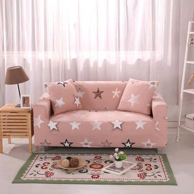 Slip Resistant Easy Wrap Sofa Cover Sofa Cover 4 / single seat sofa Contracted Store