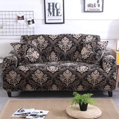 Slip Resistant Easy Wrap Sofa Cover Sofa Cover 5 / single seat sofa Contracted Store