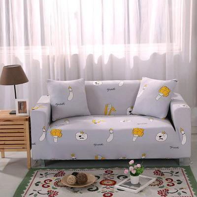 Slip Resistant Easy Wrap Sofa Cover Sofa Cover 7 / single seat sofa Contracted Store