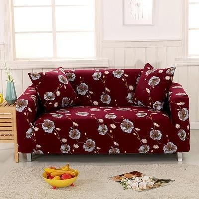 Slip Resistant Easy Wrap Sofa Cover Sofa Cover 8 / single seat sofa Contracted Store