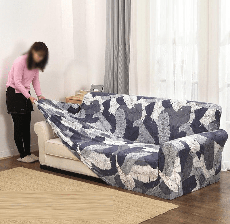 Slip Resistant Easy Wrap Sofa Cover Sofa Cover Contracted Store