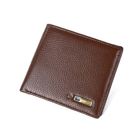 Image of Smart Wallet for Men with Anti Lost Intelligent Bluetooth Brown joeypatch