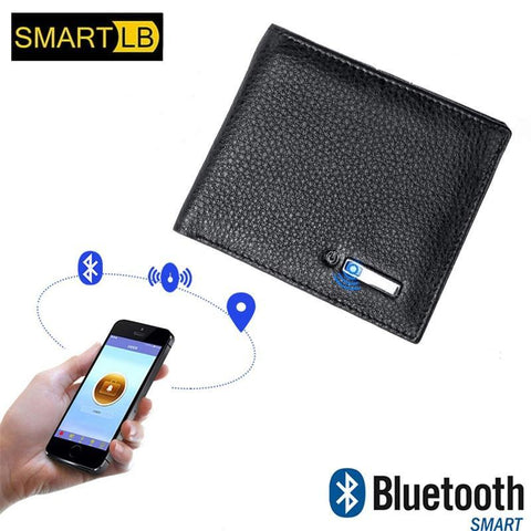 Image of Smart Wallet for Men with Anti Lost Intelligent Bluetooth joeypatch