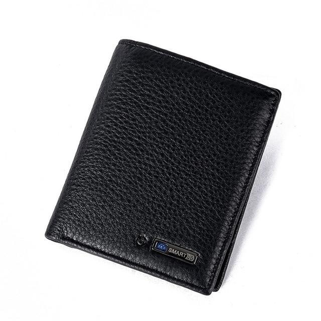 Smart Wallet for Men with Anti Lost Intelligent Bluetooth Vertical-Black joeypatch