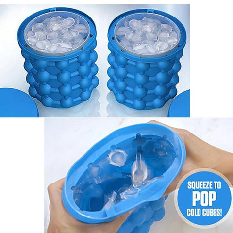 Space Saving Ice Cube Maker Default Title MOKILY HOUSEWARE Store