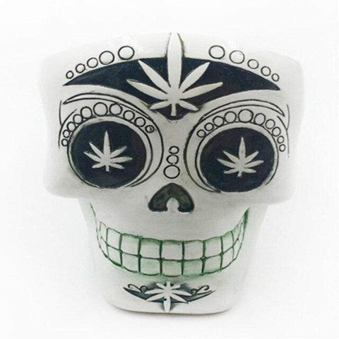 Statues Africa Home Decor Ashtrays Skull For Decoration Handicraft Human Resin Skull Abstract Sculptures Art Carving Statue White