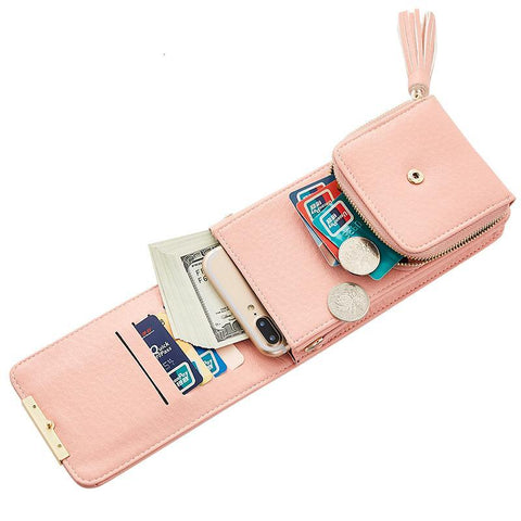 Image of Tassel Mobile Purse Bag Wallets MAILAER Store