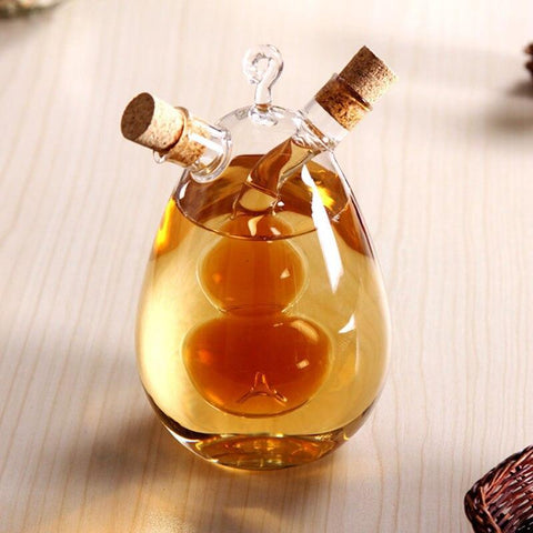Image of The Nordic amorous feelings Creative the leak oil pot/glass condiment bottles sealed pot/soy sauce vinegar pot  bottle for bar