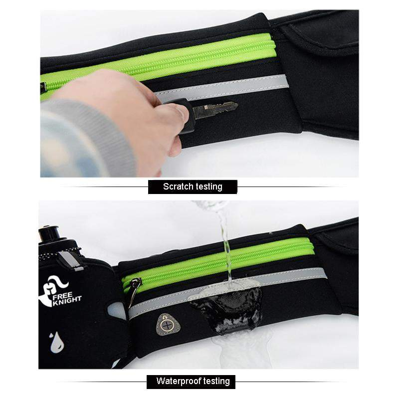 Waterproof Running Waist Sport Belt With Water Bottle Running Bags STOUREG Store