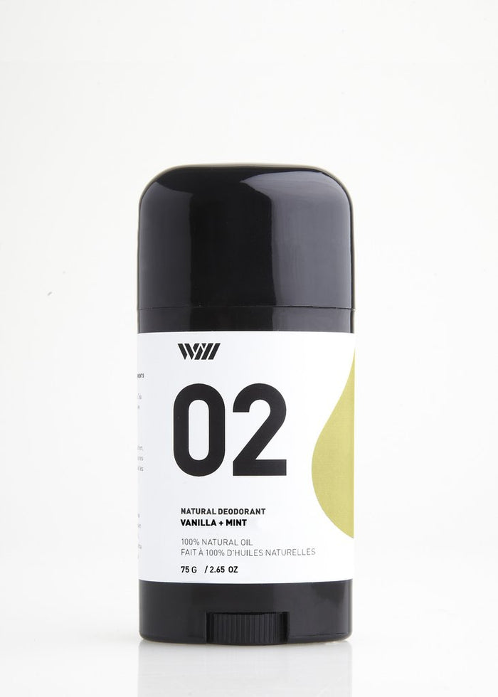 Vanilla + Mint Natural Deodorant by Way of Will