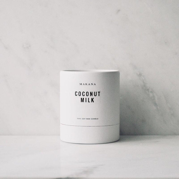 Coconut Milk Candle by Makana