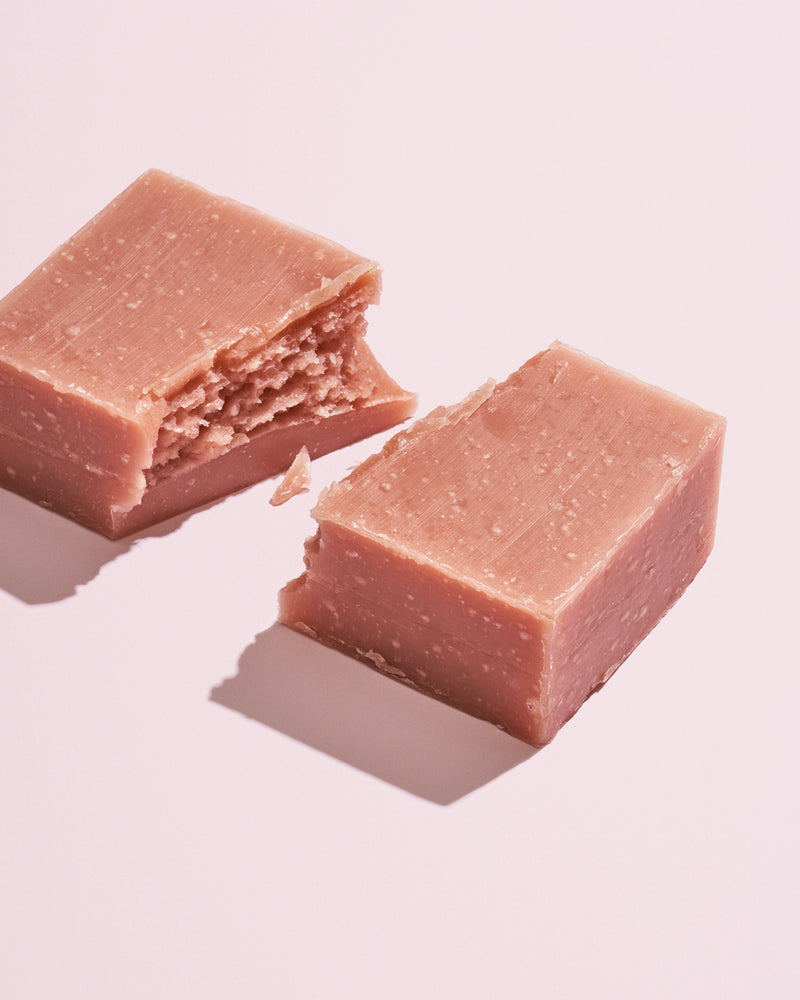 Pink Clay Cleansing Bar Soap by Herbivore