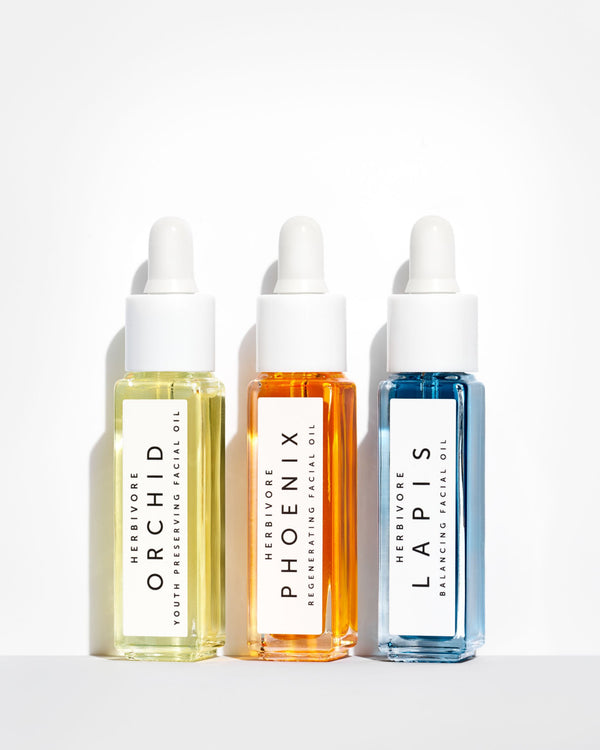 Mini Facial Oil Trio by Herbivore