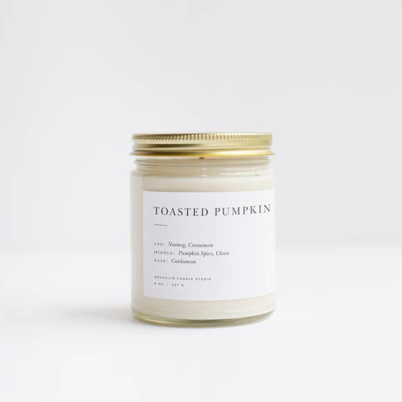 The Toasted Pumpkin Minimalist Candle