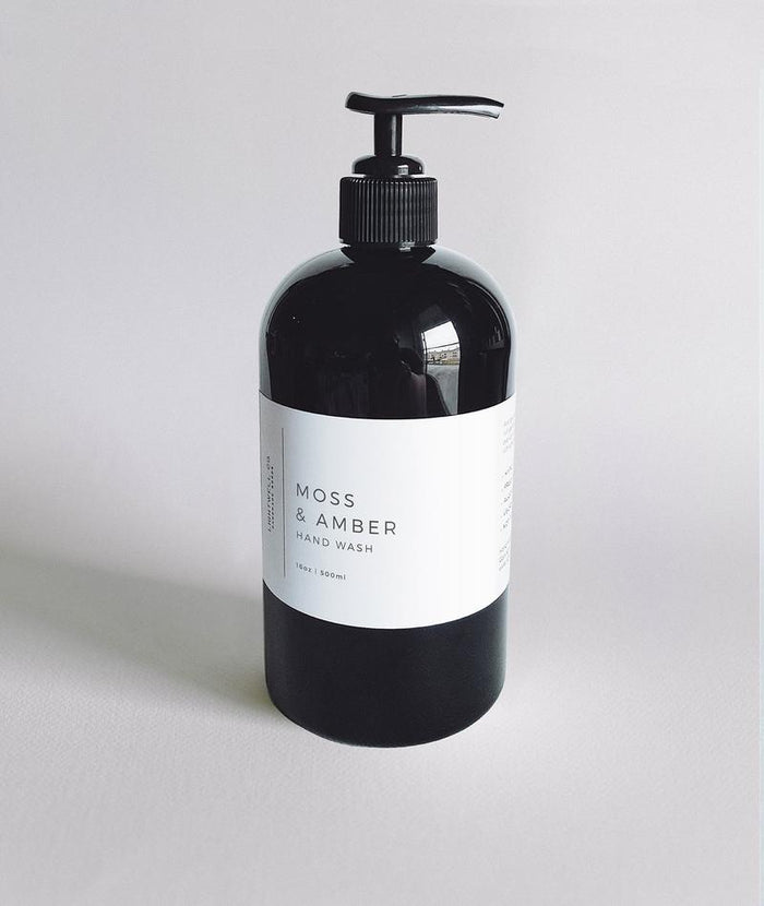 Moss + Amber Hand Wash by Lightwell Co.