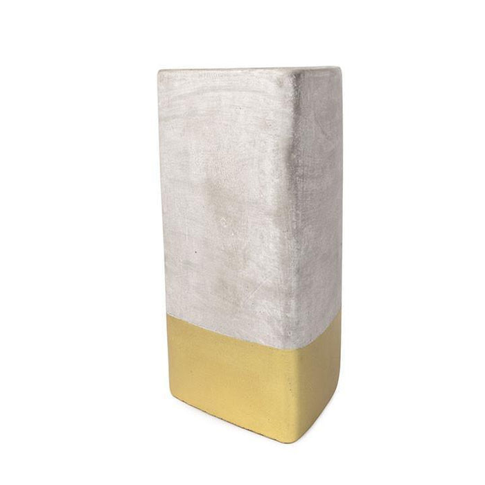 Amber + Smoke Concrete Urban Candle by Paddywax