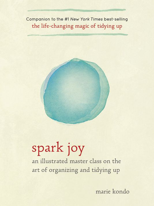 Spark Joy Book by Marie Kondo