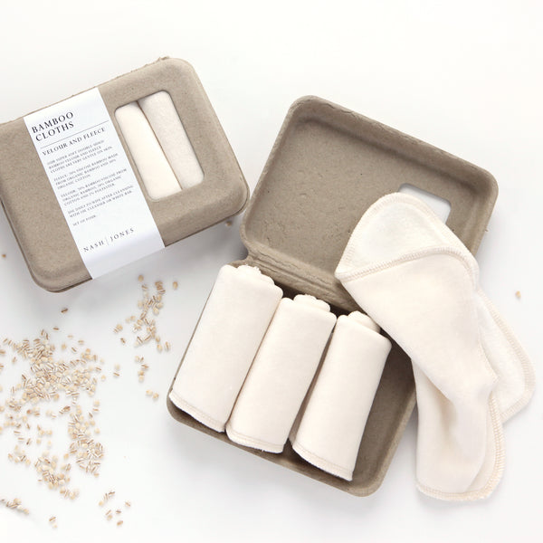 Bamboo Soft Washcloths by Nash + Jones