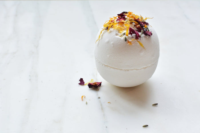 Moisturizing Bath Bomb by Among the Flowers