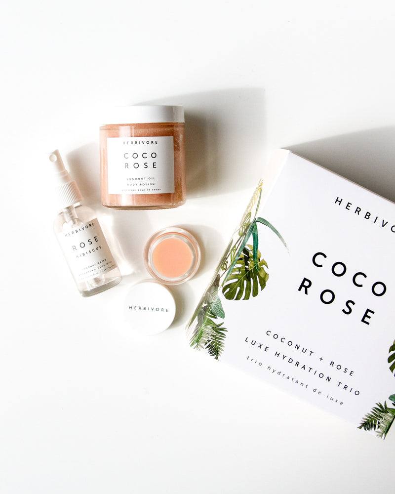 Coco Rose Luxe Hydration Trio by Herbivore