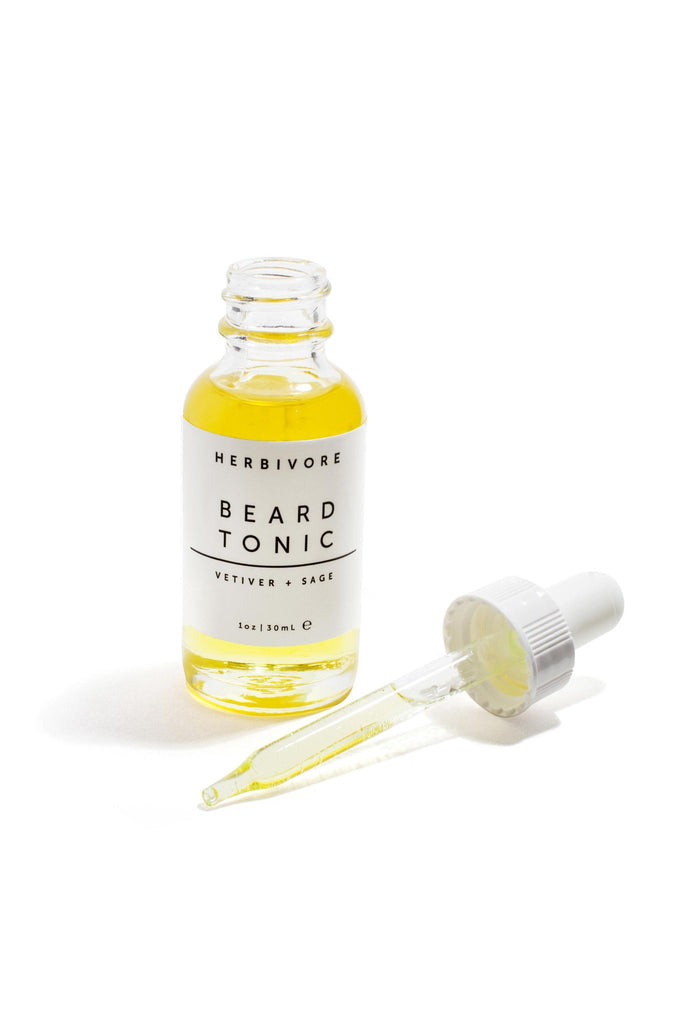 Vetiver + Sage Beard Tonic by Herbivore
