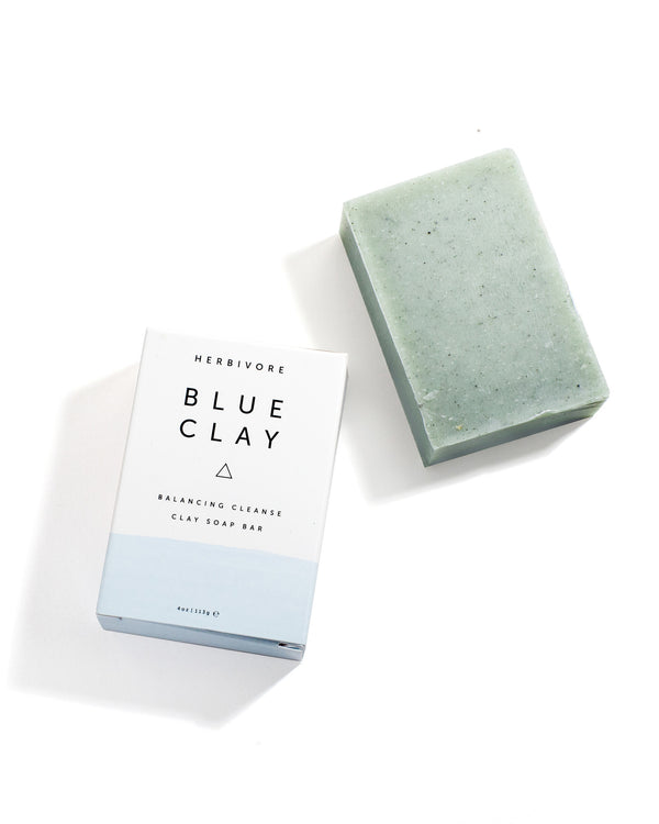 Blue Clay Cleansing Bar Soap by Herbivore