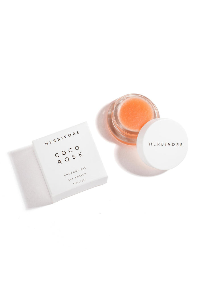 Coco Rose Lip Polish by Herbivore