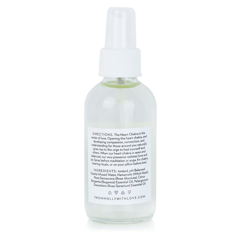 Heart Chakra Spray by From Molly With Love