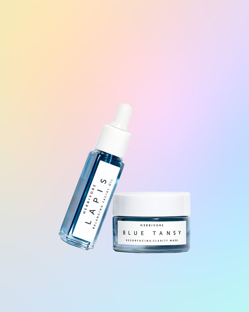 True Blue Mini Skin Clarifying Duo by Herbivore