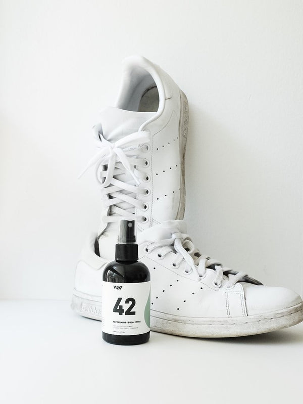 Peppermint + Eucalyptus Foot and Shoe Deodorant by Way Of Will