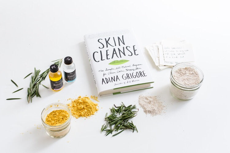 Skin Cleanse Book by Adina Grigore