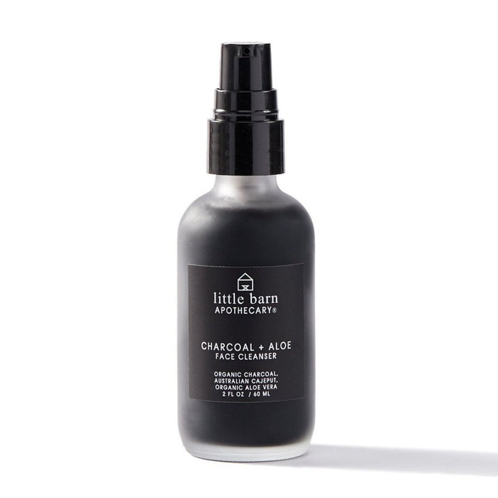 Charcoal + Aloe Face Cleanser by Little Barn