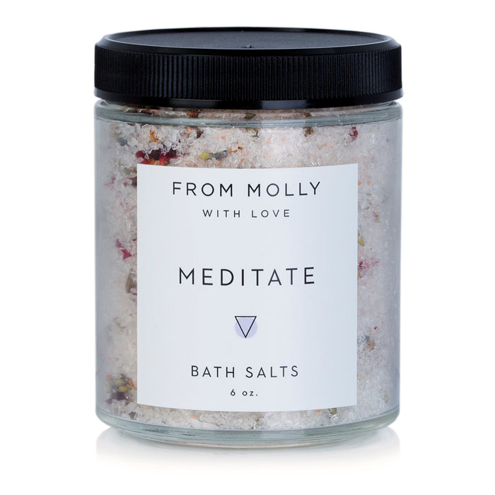 Meditate Bath Salts by From Molly With Love