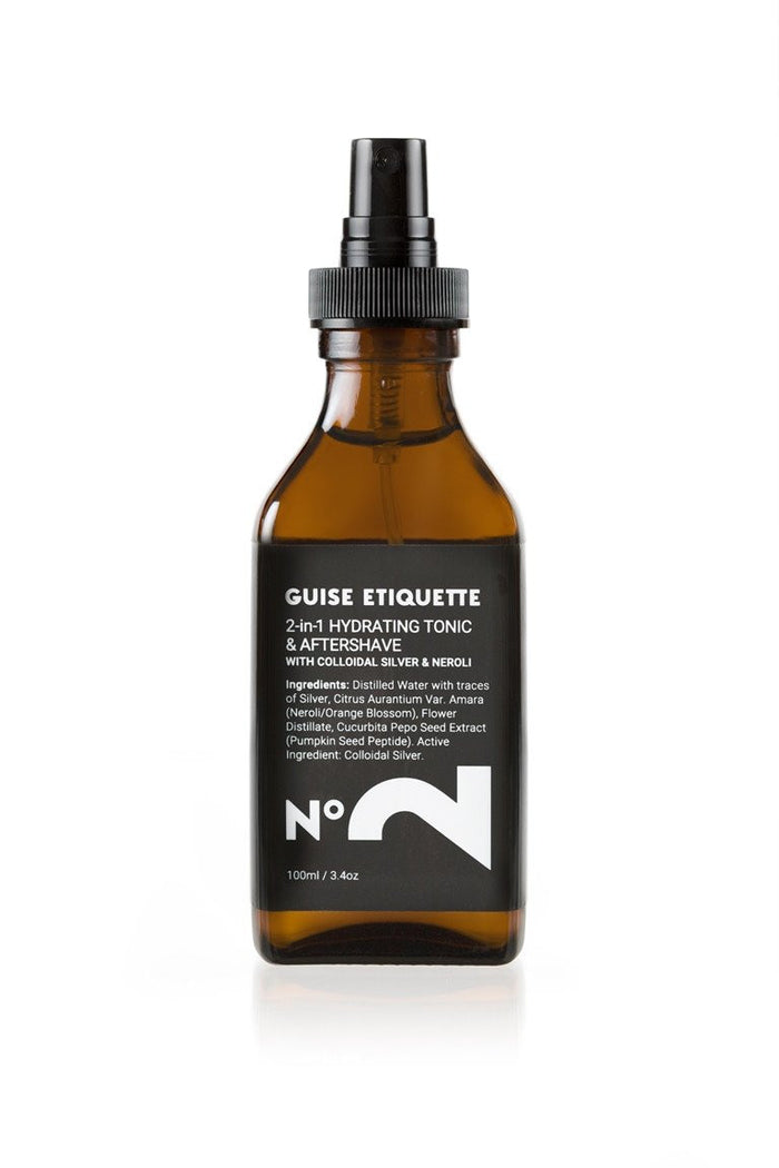 No 2 Hydrating Tonic & Aftershave by Guise Etiquette