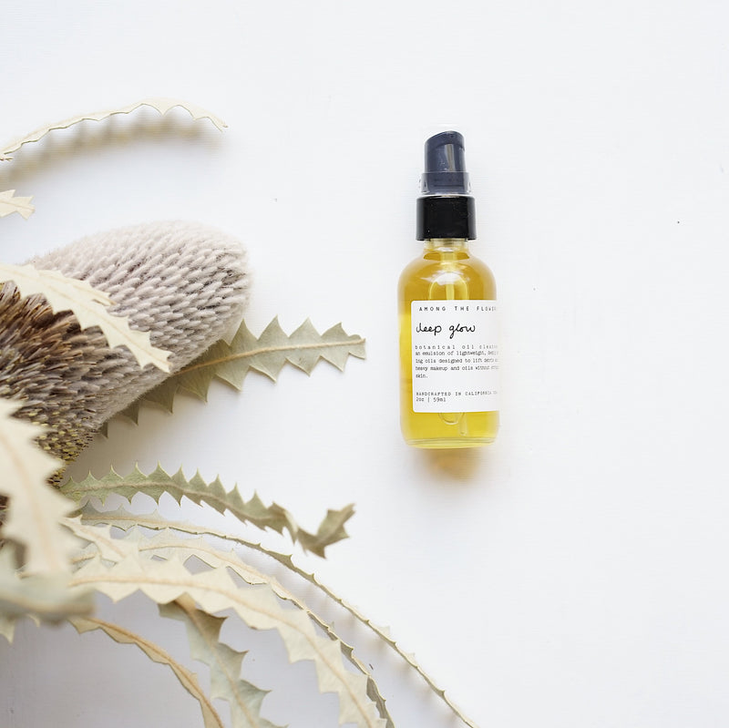 Deep Glow Botanical Oil Cleanser by Among The Flowers